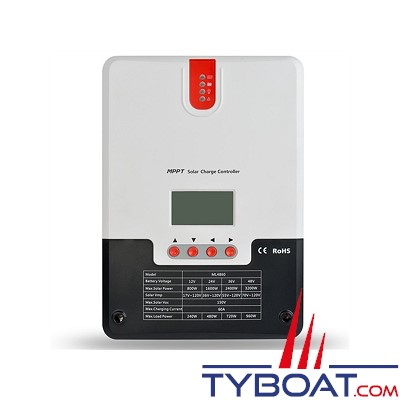 Srne - Régulateur Solaire MPPT 60A  - 12/24/36/48V