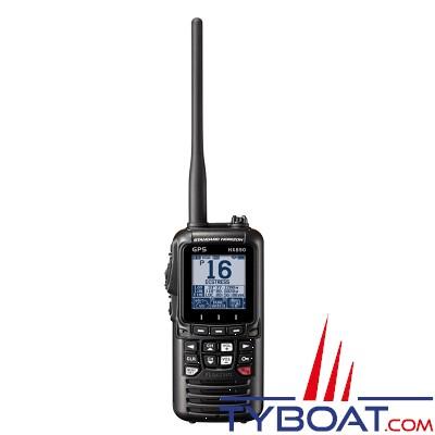 STANDARD HORIZON - VHF portable HX890E - 6 Watts  - Etanche flottante - GPS intégré  - noire