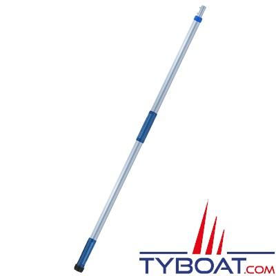 Starbrite - Manche à balais  aluminium avec adaptateur de tuyau - 91-183 cm - Extend-A-Brush - Quick Connect