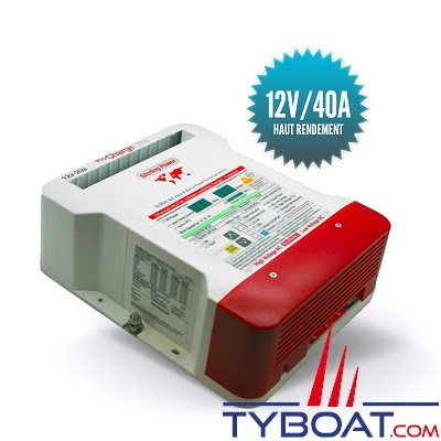 Sterling power - Chargeur de batterie Pro Charge U - 12 Volts - 40 ampères