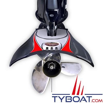 Sting Ray - XRIII sénior - Hydrofoils stabilisateur - Noir - 75 à 300 cv