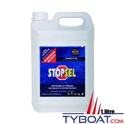 STOPSEL - Liquide de nettoyage et de rinçage des circuits de refroidissement STOPSEL CRW Hivernage 1 litre
