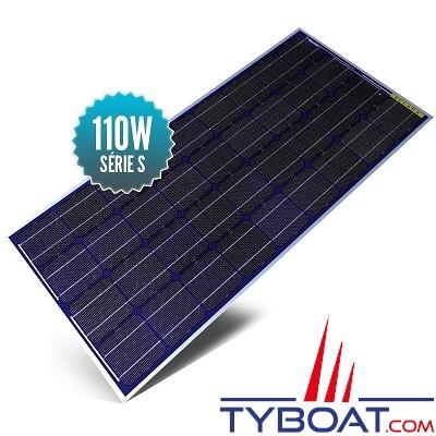 Sunpower - Panneaux solaires SOLARA power S rigides Back contact (cadre aluminium) - 110 watts - 12 volts - 1237 x 550 x 35 mm