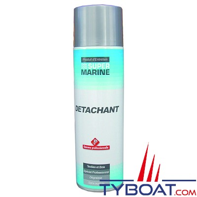 Super marine - Aérosol détachant - bois (teck) et tissus - 500 ml