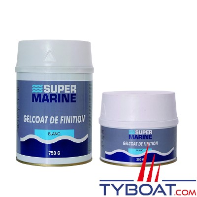 Super marine - Gelcoat de finition - 250 gr - Blanc