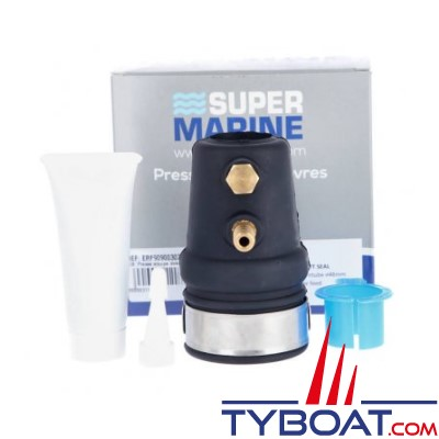 Super Marine - Joint étanche pour arbre Ø 25mm et tube étambot Ø 42 mm -  Avec prise d'eau