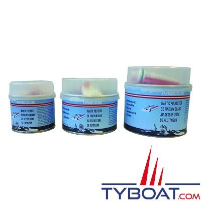 Super marine - Mastic polyester - 250 gr - Blanc