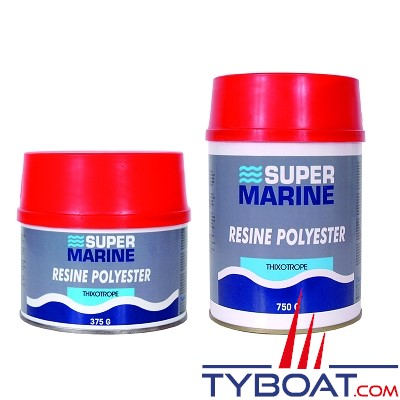 Super marine - Résine polysester thixo - 750 gr