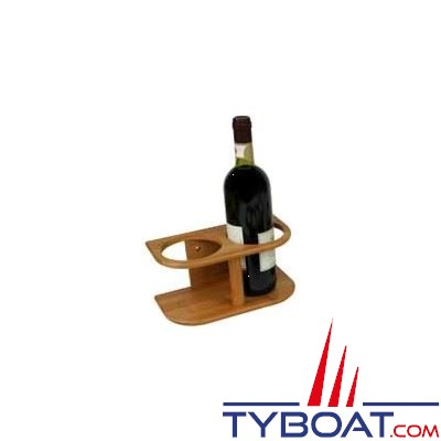 BAMBOO MARINE - Support 2 bouteilles - Ø maxi 95 mm
