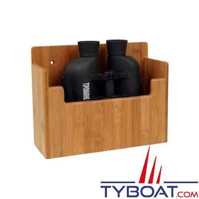 BAMBOO MARINE - Support pour jumelles - 220 x 175 x 75 mm
