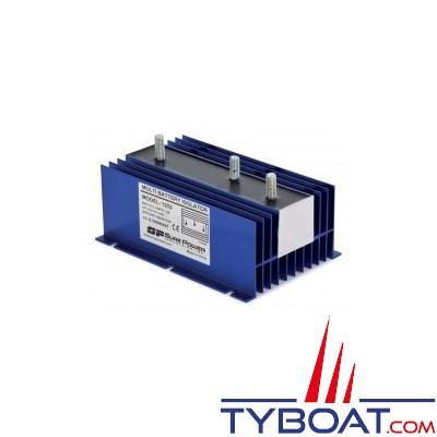 SURE POWER - Répartiteur de charge - 1 entrée 3 sorties - 120 Ampères - Sans borne de référence