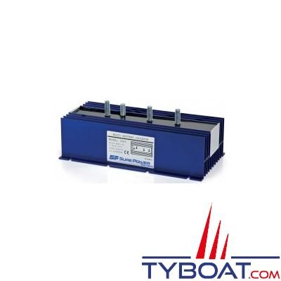 SURE POWER - Répartiteur de charge - 1 entrée 3 sorties - 160 Ampères - Sans bornes de référence