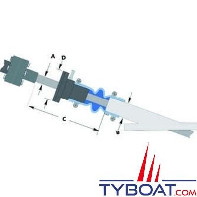 SURESEAL - Joint d'étanchéité - pour arbre Ø 35 mm et tube d'étambot Ø 67 mm.