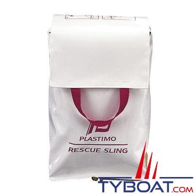 Système de récupération d'homme à la mer Plastimo RESCUE SLING blanc