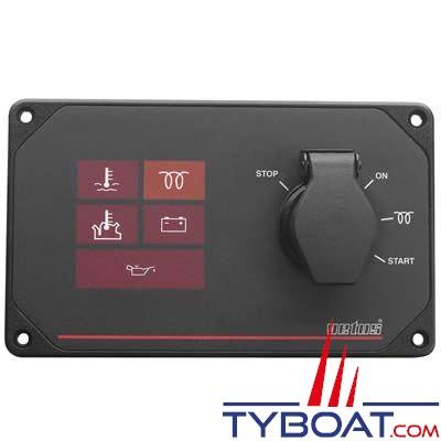VETUS - Tableau de bord étanche pour voilier MP10 12V