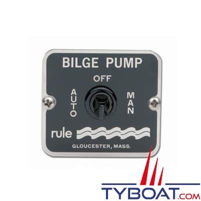 RULE - Tableau de commande pompe 3 positions 12/24V