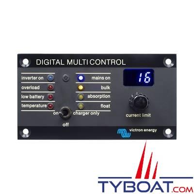 VICTRON ENERGY - Tableau de contrôle digital Multi Control 200/200A.