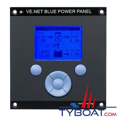 Tableau de contrôle Victron Energy Blue Power Panel 2
