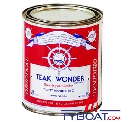 TEAK WONDER - Dressing sealer - Entretien du bois 0.95 litres