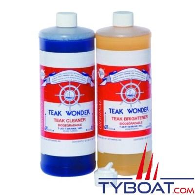 TEAK WONDER - Pack entretien du bois 2x0.95 litres