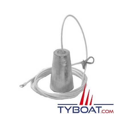 Tecnoseal - Anode à suspendre - Ø 53/80 mm hauteur 105 mm