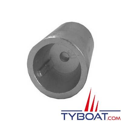 Tecnoseal - Anode d'arbre conique à clavette avec vis de fixation - Ø 22/25 mm
