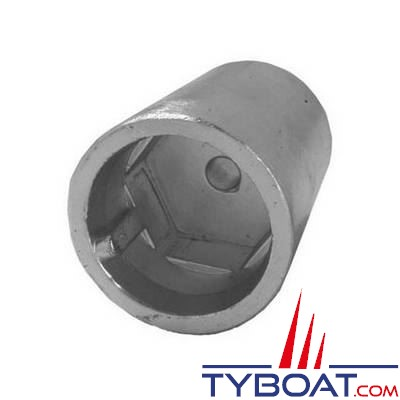 Tecnoseal - Anode d'arbre conique empreinte hexagonale sans vis de fixation - Ø 22/25 mm