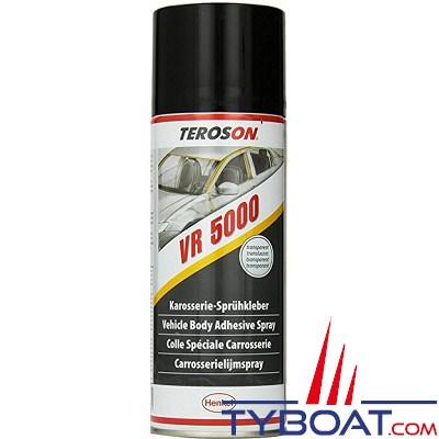 TEROSON - Adhésif contact VR5000 en spray, 10 minutes, 400ml