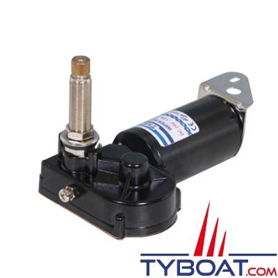 TMC - Moteur essuie-glace Heavy Duty 2 vitesses - 12 Volts - Arbre Ø 16 mm longueur 52 mm - Angle réglable 83°/100°/110°/120°