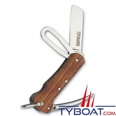 Topomarine - Couteau marin en bois