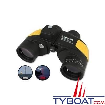 Topomarine - Jumelles - Rescue  - 7 x 50 - Compas - Etanches et flottantes