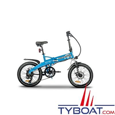 TORROT - CITY Surfer - Vélo pliant électrique - Moteur à 3 puissances d'assistance