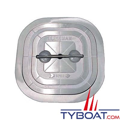Trappe d'accès Freeman carrée aluminium 20