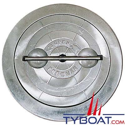 Trappe d'accès Freeman ronde aluminium 15