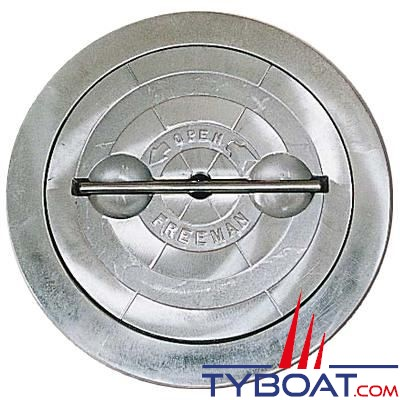 Trappe d'accès Freeman ronde aluminium 8
