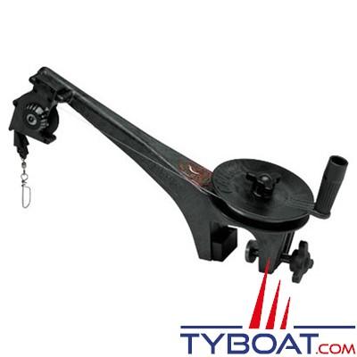 Treuil de pêche manuel Cannon Mini Troll - compteur en pied