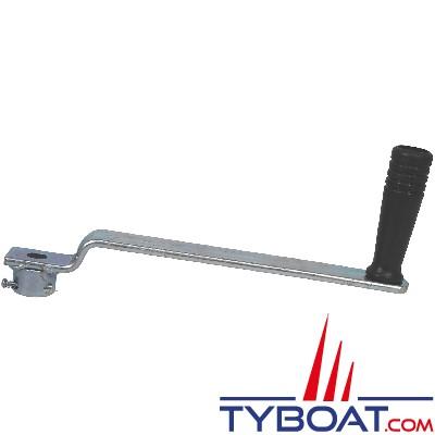 Goliath - Manivelle amovible longueur 250mm pour les treuils 12N2, 12N2F, 16N2, 16N2F, 25N3F, TS800 et TS1200