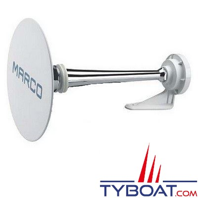 Marco - Trompe seule pour avertisseur sonore homologué PW2-C pour bateaux de 12 à 20 mètres