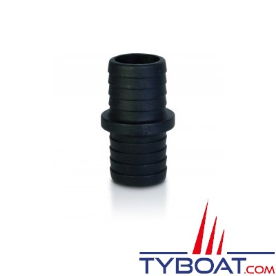 TRUDESIGN - Raccord de jonction polymère droit 38/38mm