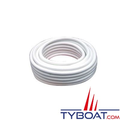 Tuyau souple armé spiralé Kent Marine blanc Ø20mm - au mètre