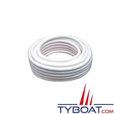 Tuyau souple armé spiralé Kent Marine blanc Ø38mm - 10 mètres