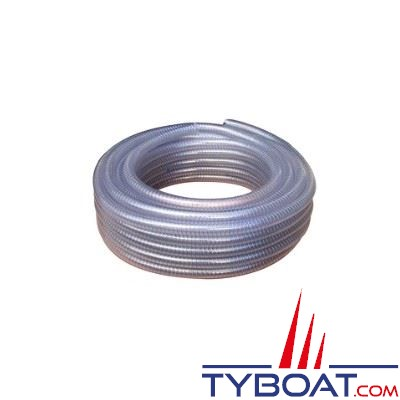 Tuyau souple arm spiral kent marine transparent 40mm - Tuyau souple transparent ...