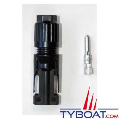 TYBOAT - Connecteur femelle MC4 - 4/6 mm² - Pour panneaux solaires