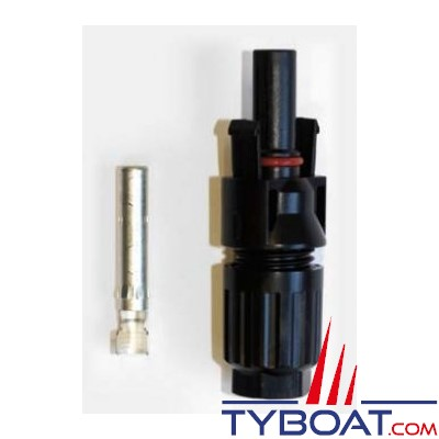 TYBOAT - Connecteur mâle MC4 - 4/6 m² - Pour panneaux solaires