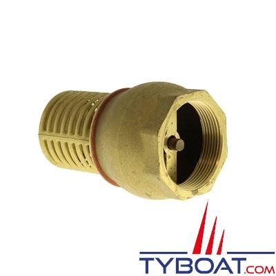 TYBOAT - Crépine d'aspiration avec clapet anti-retour - Diamètre : 3 pouces