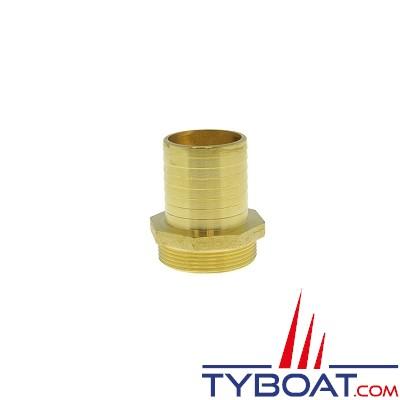 TYBOAT - Raccord annelé 1004 - 3 pouces - 76 millimètres