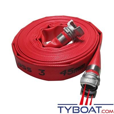 TYBOAT - Tuyau incendie - DN 40 - 10 mètres