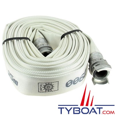 TYBOAT - Tuyau incendie - DN 40 - 15 mètres