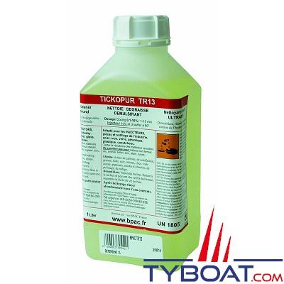 Bpac - Détergent alcalin démulsifiant, nettoyant injecteur 1L