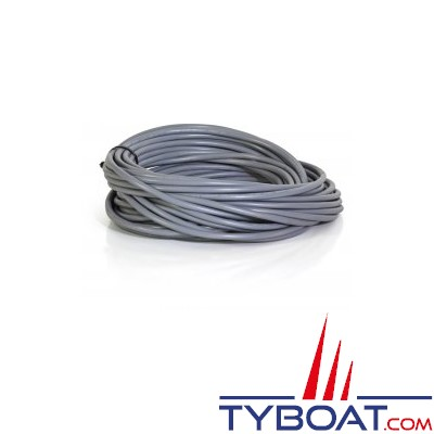 Câbles multiconducteur gris HO5VV-F 2x1,5mm2 - par 25 mètres